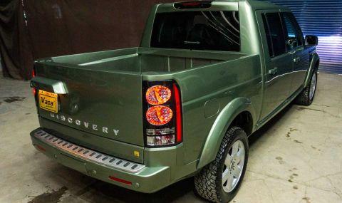 Land Rover Discovery пикап в една единствена бройка - 5