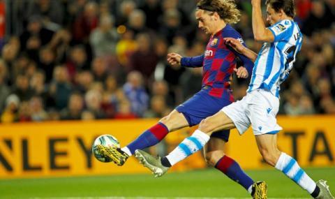 Интер дава Лаутаро Мартинес на Барселона, но иска Гризман
