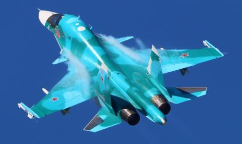 Руски Су-34 нахлу в Естония
