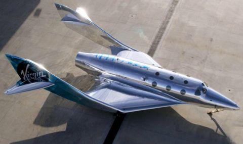 Virgin Galactic представи трети космически кораб (ВИДЕО)