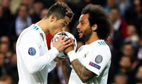 Марсело изпълни предизборните задължения преди мача с Челси