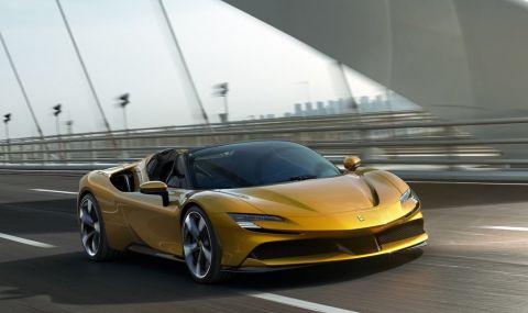 Ferrari също преминава на ток