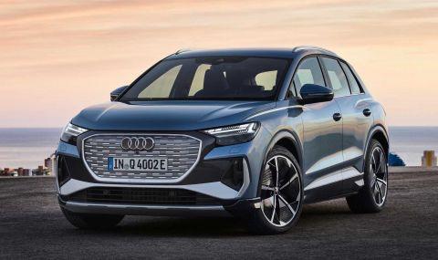 Audi представи електрическото Q4 с различен дизайн и нова платформа - 16