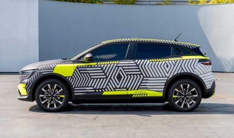 Renaultпредстави електрическиMeganeс 217 конски сили - 3