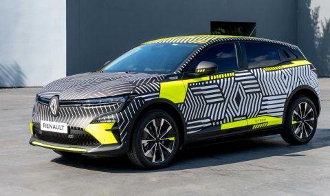 Renaultпредстави електрическиMeganeс 217 конски сили - 1