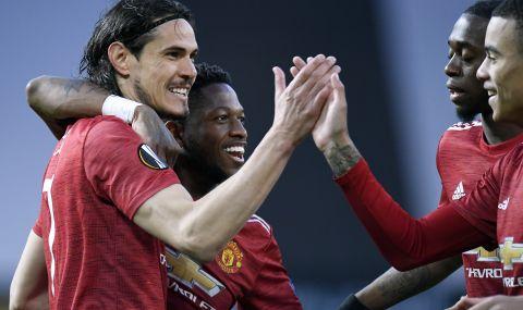 Солскяер е сигурен, че може да убеди Кавани да остане в Манчестър Юнайтед