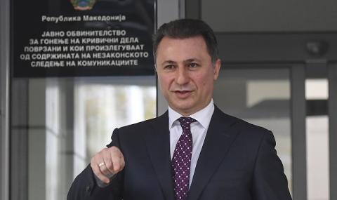 Беглецът Груевски: За София нацията ни е с промити мозъци