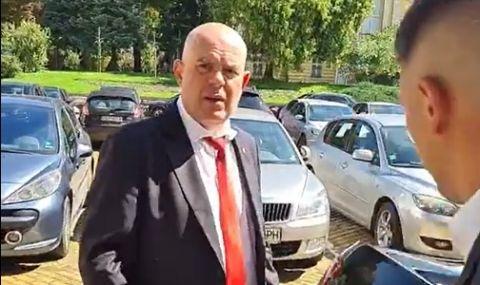 Гешев избяга от въпросите на гражданска организация (ВИДЕО) - 1