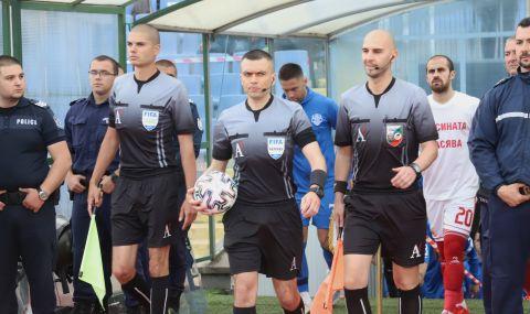 Български рефер ще води мач от квалификациите за Лигата на конференциите - 1