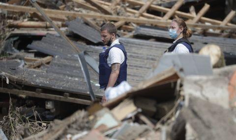 Най-малко 187 са загиналите от наводненията в Европа