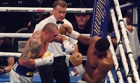 Олександър Усик детронира Джошуа и е новият голям шампион в тежка категория (ВИДЕО) - 1