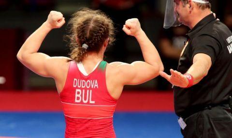 Европейската ни шампионка Дудова с емоционални думи след триумфа