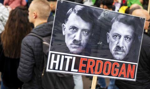 Акция протеста студентов в Турции. Плакат. Иллюстрация БГНЕС/ЕРА