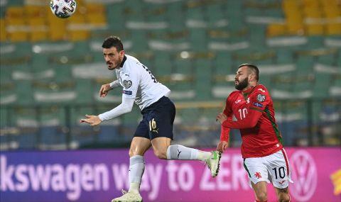 Трети италиански футболен национал с коронавирус след мача с България