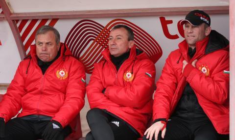 Временният треньор на ЦСКА: Имаме стратегия за мача с Рома