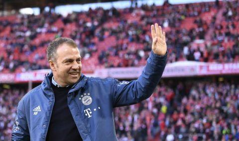 Байерн Мюнхен маха Ханзи Флик след края на сезона