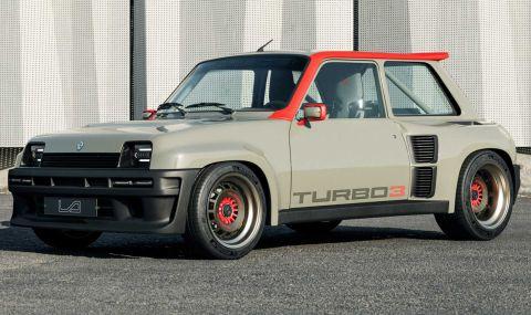 Възроденото Renault 5 Turbo дебютира с класически дизайн и нови технологии - 4