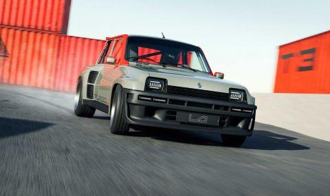 Възроденото Renault 5 Turbo дебютира с класически дизайн и нови технологии - 1