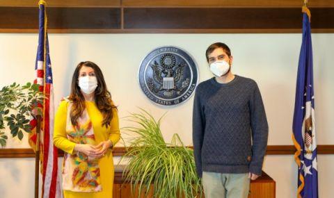 Посолството на САЩ подкрепи бития от полицаи Димитър Кенаров