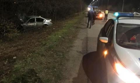 Тежка пътна катастрофа край Варна заради несъобразена скорост