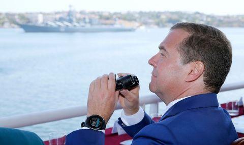 Медведев: Отношенията със Запада са по зле от Карибската криза