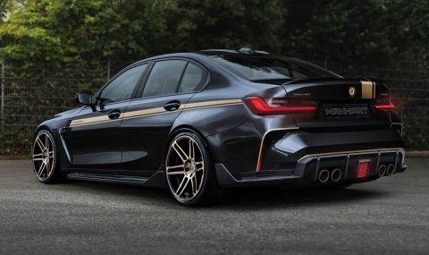 Manhart тунингова BMW M3/M4, но остави големите