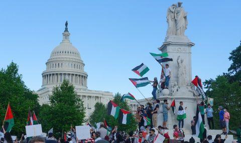 Демонстрации в защита на палестинците в САЩ