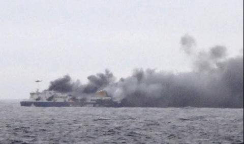 112 пасажери от запалилия се ферибот пристигнаха в Гърция - 1