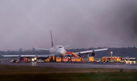 Проблем и със самолет на Virgin Atlantic (ВИДЕО) - 1