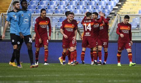 Рома счупи каръка с драматична победа в Серия А