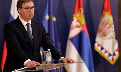 Вучич: Протестите са организирани отвън