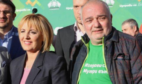 Политкоректно: Десният Бабикян сатанизира червената БСП, но се бракосъчета с еврокомунистката Мая