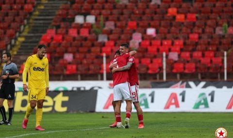 ЦСКА не даде никакъв шанс на Хебър и вече чака следващия си съперник за Купата - 1