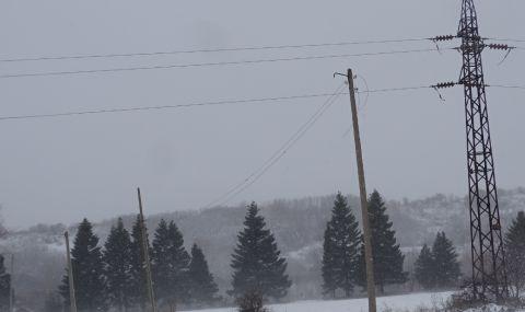 Снеговалежът остави без ток най-голямото врачанско село
