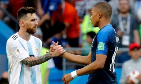 """Мбапе посочи Меси за най-достоен за """"Златната топка"""""""
