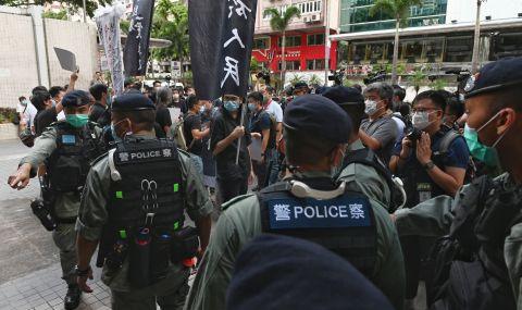 Задържаха десетки опозиционери в Хонконг