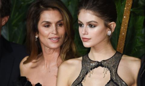 Дъщерята на Синди Крофорд призна за връзката си с... (СНИМКИ)