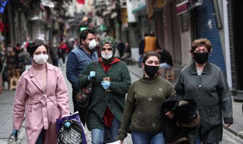 """100 000 заразени в Турция, но властта твърди, че """"всичко е под контрол"""""""