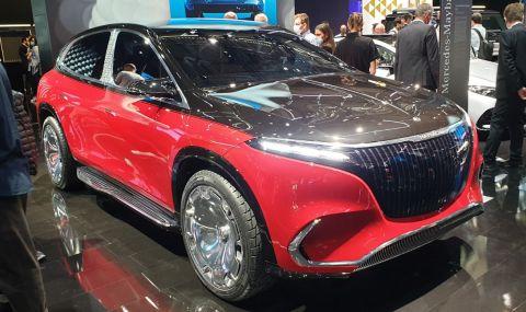 Лукс на ток: Maybach показа първия си SUV - 1