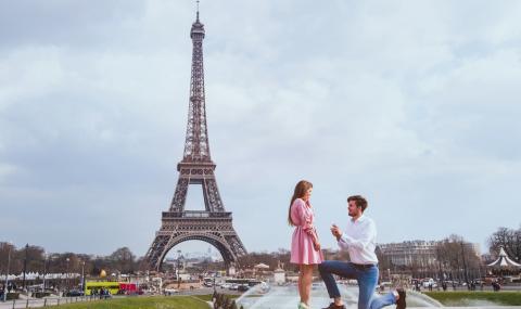 Топ 10 на местата с най-много предложения за брак (СНИМКИ)