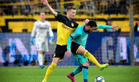 Барселона успя да измъкне точка от Борусия