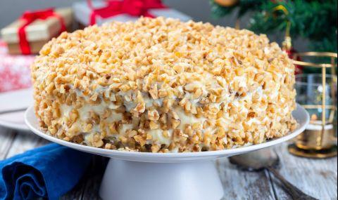 Рецепта на деня: Лесна домашна торта с яйчен крем
