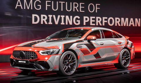 Mercedes разкри мощността на четирицилиндровото C63 AMG - 7