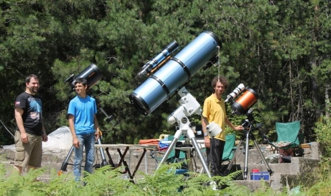 65 млади астрономи изследват нашата слънчевата система край Ардино - 5