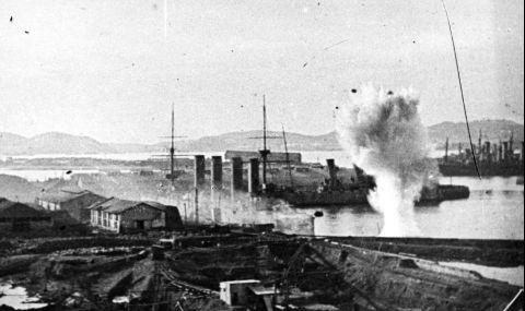 2 януари 1905 г. Япония превзема Порт Артур
