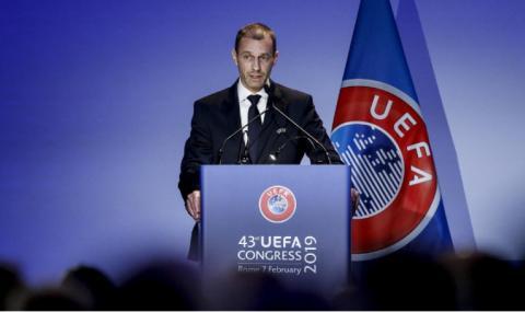 Президентът на УЕФА: Феновете скоро ще се завърнат по стадионите