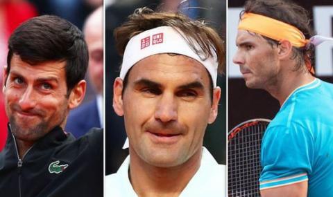 Страхотна инициатива на тримата големи в тениса - Джокович, Федерер и Надал