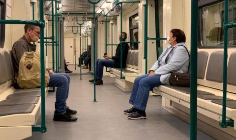 Мотриса от софийското метро заседна в тунел след спиране на захранването