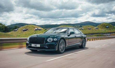 Bentley представи най-икономичния модел в своята история