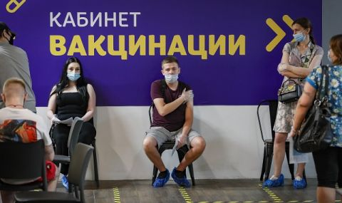 Русия счупи рекорда си за заразени и починали от COVID-19 - 1